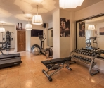 palestra dell'Hotel Suites & Spa - Cortina d'Ampezzo - SorgenteGroup