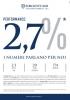 Performance: 2,7%, numbers speak for us